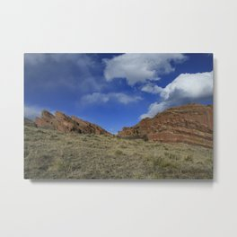 Winter at Redrock Canyon Metal Print
