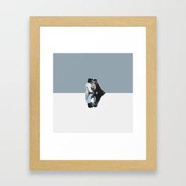 Derek and Meredith Framed Art Print