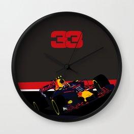 Max Verstappen, race winner Malaysia 2017 Wall Clock