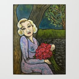 Marilyn in Love Poster