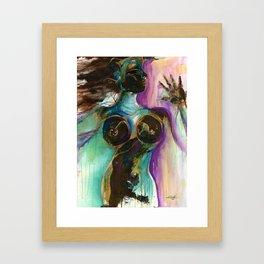 Earth Goddess by Kathy Morton Stanion Framed Art Print