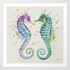 Guardians of the Sea I Art Print