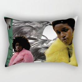 Virgo Moon Rectangular Pillow