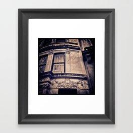 """UPPER WEST FAÇADE Framed Art Print"