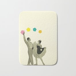Throwing Shapes on the Dance Floor Bath Mat