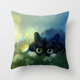 Stealth action Throw Pillow