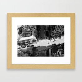 Chicago Intersections Framed Art Print
