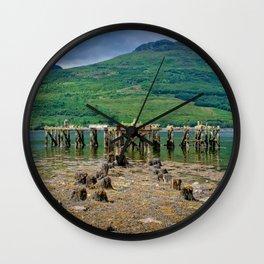 Abandoned Pier Wall Clock