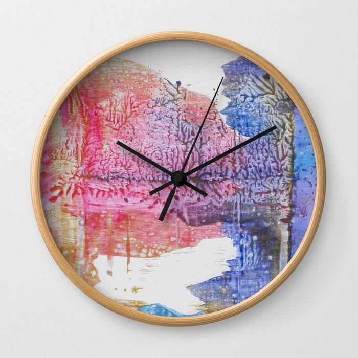Sunrise Lake Wall Clock