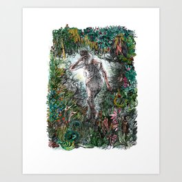 Gone and unmissed Art Print