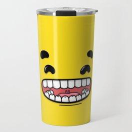 Yellow Smileys - Happy Travel Mug