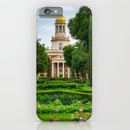 Baylor Campus Waco Texas Rose Garden Print iPhone Case
