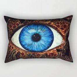 Dark Eye Rectangular Pillow