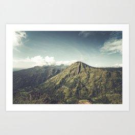 Ella Rock, Sri Lanka Art Print