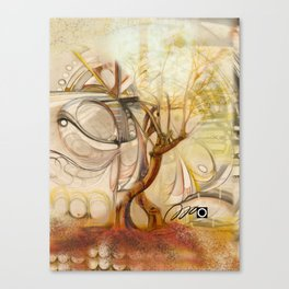 Axis Mundi V Canvas Print