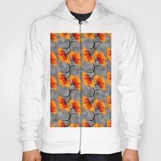 patterns - poppy Hoody