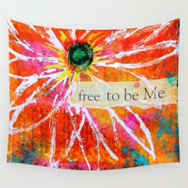 Free to Be ME Wall Tapestry