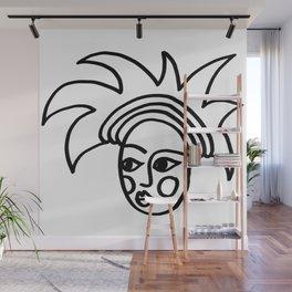 Jester Head Wall Mural