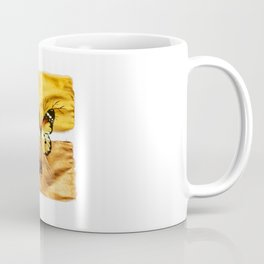 Gold and copper butterfly Coffee Mug