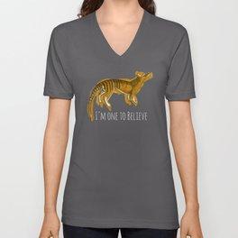 Believe in Thylacine Unisex V-Neck