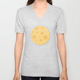 Cheese moon Unisex V-Neck