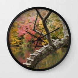 Magical Steps Wall Clock