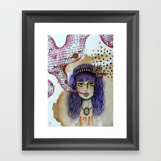 speakeasy Framed Art Print