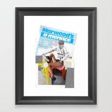 Football Fashion #13 Framed Art Print
