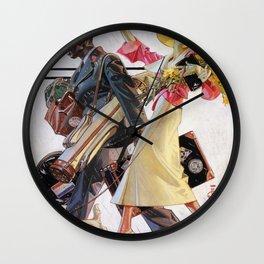 Joseph Christian Leyendecker - Goodbye Summer - Digital Remastered Edition Wall Clock