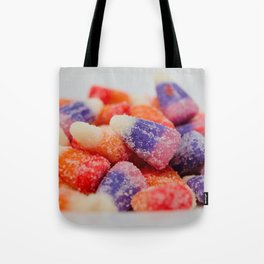 Sweet and sour flavored candy Tote Bag