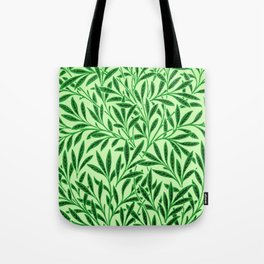 William Morris Willow Pattern, Light Jade Green Tote Bag
