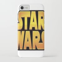 starwars iPhone & iPod Cases featuring StarWars by Camorrista