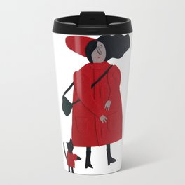 Red jacket Travel Mug