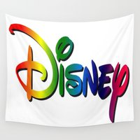 cartoon Wall Tapestries featuring CARTOON by Acus