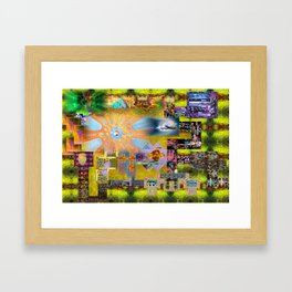 How I Spent my Summer Vacation Framed Art Print