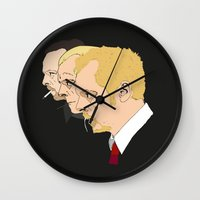 shaun of the dead Wall Clocks featuring Simon Pegg - Shaun Of The Dead, Hot Fuzz and The World's End by Tomcert