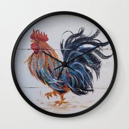 Le Coq of Le Walk Wall Clock