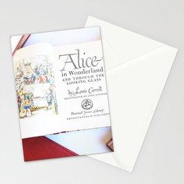 Alice in Wonderland 3 Stationery Cards