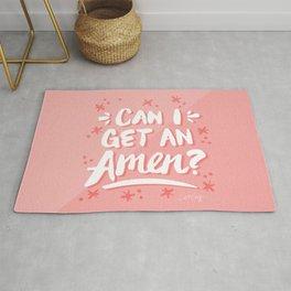 Can I Get An Amen? – Blush Pink Palette Rug