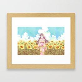 Fruits Basket   Framed Art Print