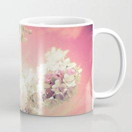 Pink Lavender Flowers Coffee Mug