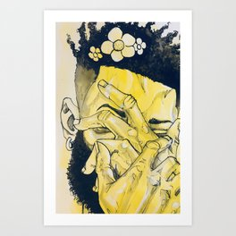 Emotional Art Print