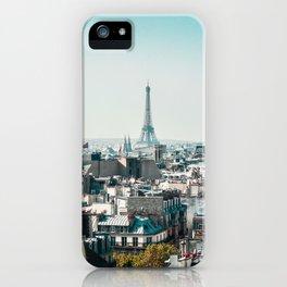 I <3 parisian rooftops. iPhone Case