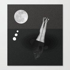 He aquí el subconsciente Canvas Print