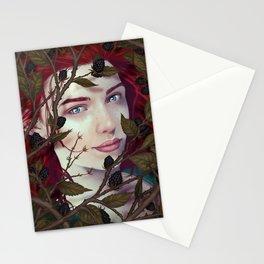 Blackberry Valentine Stationery Cards