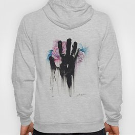 Black and Roses Hoody