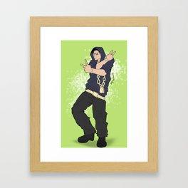 Nicolas Brown (gangsta) Framed Art Print