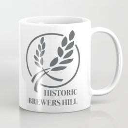 Brewers Hill Sign Black Coffee Mug