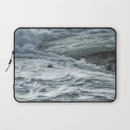 Staying Afloat in a World of Turmoil Laptop Sleeve