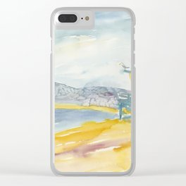Iconic Venice Beach Clear iPhone Case